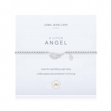 Joma Jewellery A Little ANGEL Silver Plated Beaded Bracelet